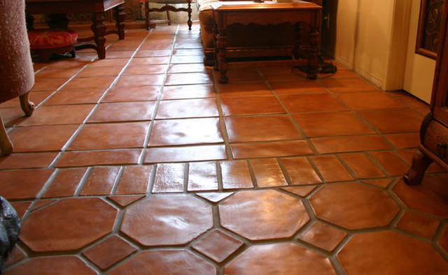 Floors - Mediterranean - Living Room - Los Angeles - by Canyon Tile ...