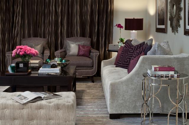 Florida Beach Condo | Sand Pearl Residences traditional-living-room