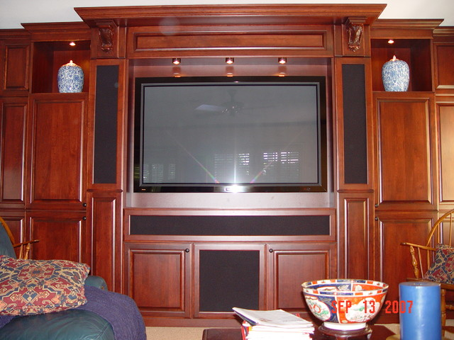 Florida Home Theater cabinets - Living Room - by Florida Home Theater Cabinets, Inc.