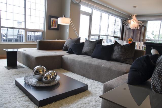 Flour Stacks Penthouse contemporary-living-room