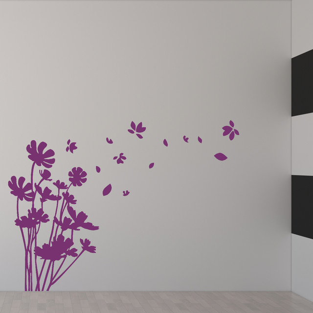 flower wall decal vinyl wall art nursery room children's ...