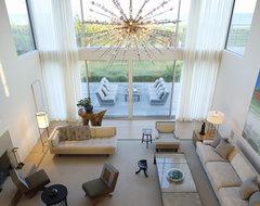 Flying Point Residence modern-living-room