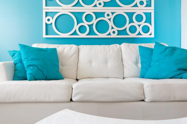 Focus on Design beach-style-living-room