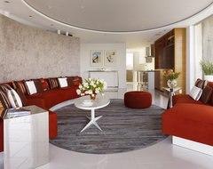 Fontana Interior modern living room