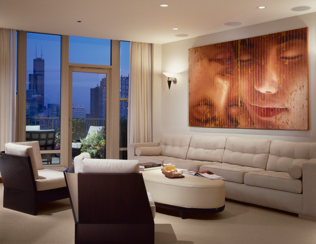 Fordham condominiums contemporary living room for Dasal architectural lighting