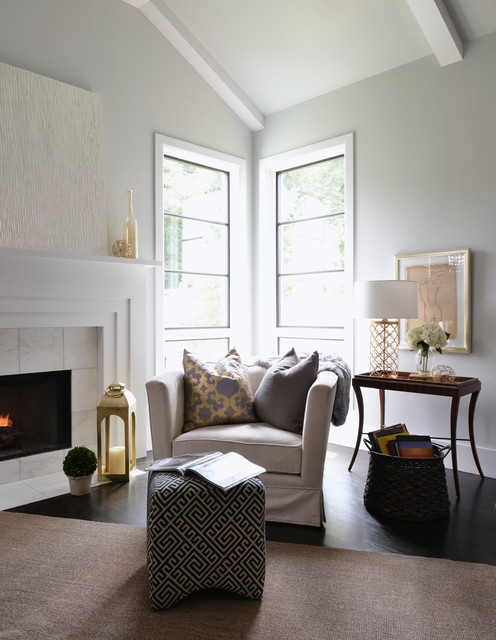 Forest Hills Modern Farmhouse Transitional Living Room Dallas By Lilli Design