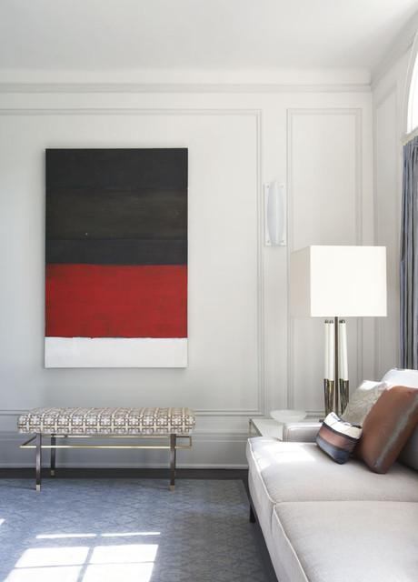 Forest Hills modern-living-room