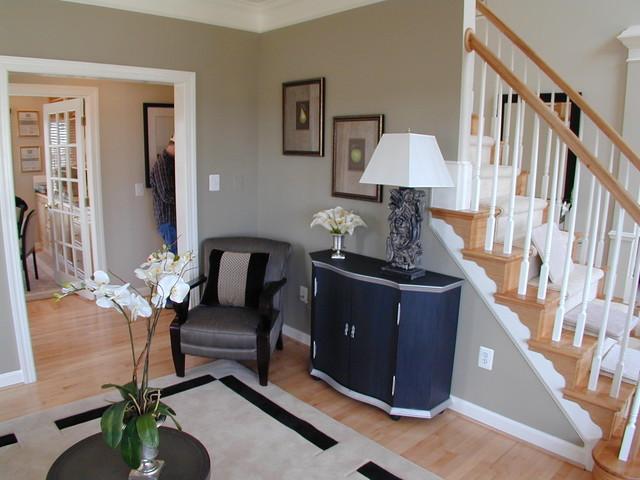 Forest Manor Model Home modern-living-room