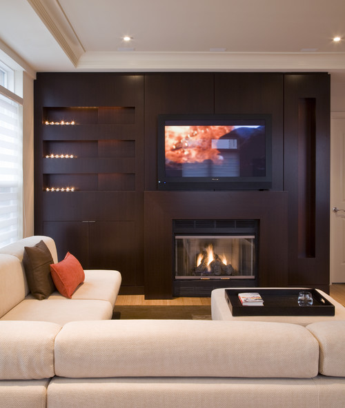 FORMA Design contemporary family room