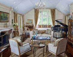 Formal French Living Room on Philadelphia's Main Line. traditional-living-room