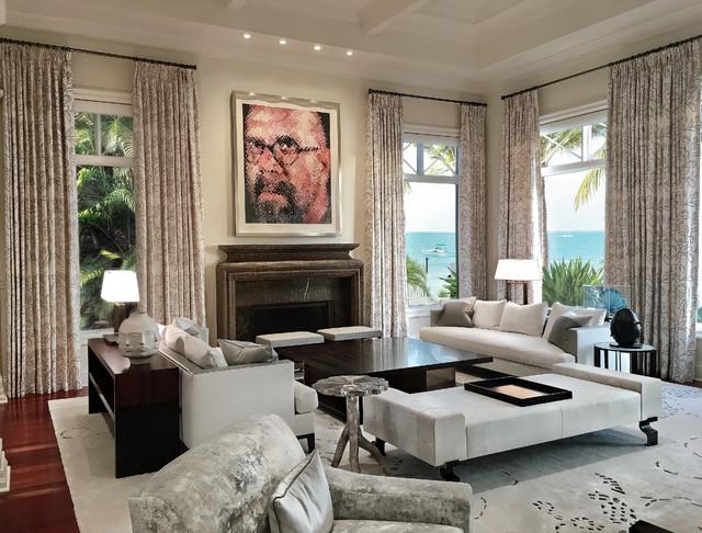 formal living room - Klassisch modern - Wohnbereich - Miami ...