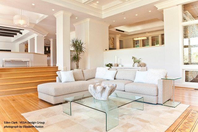 Formal Living Room And Piano Room Modern Living Room Orange County By