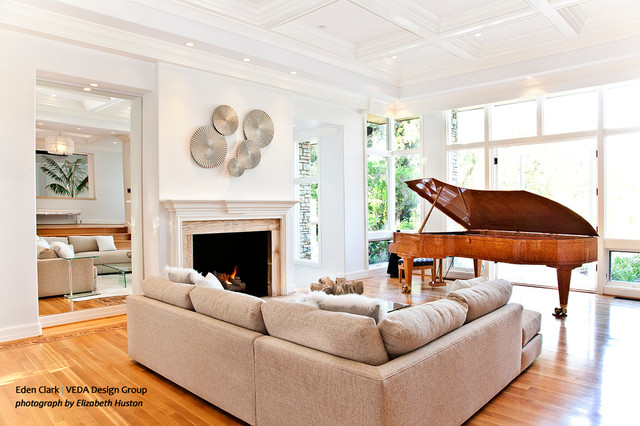 Formal Living Room And Piano Room Living Room Orange