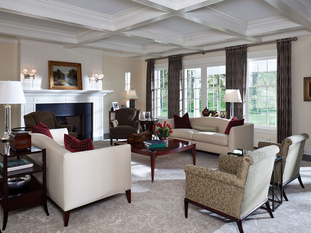 Formal Living Room As Seen From The Front Entry Traditional Living Room Minneapolis By
