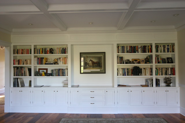 Formal Living Room Bookcases Traditional Living Room Philadelphia By