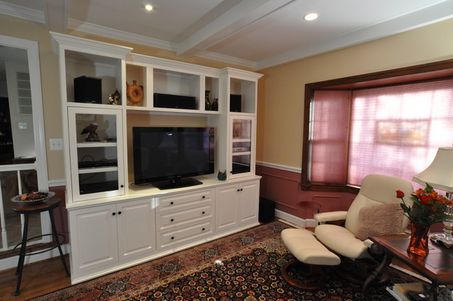 Formal Living Room Built Ins