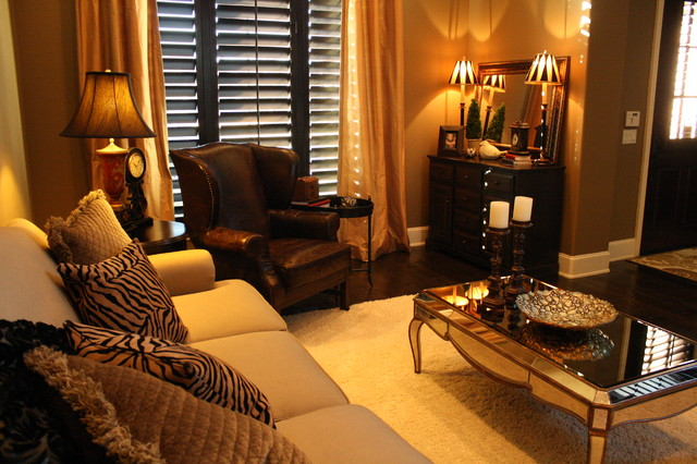 Formal Living Room Traditional Living Room Dallas By Halo Design