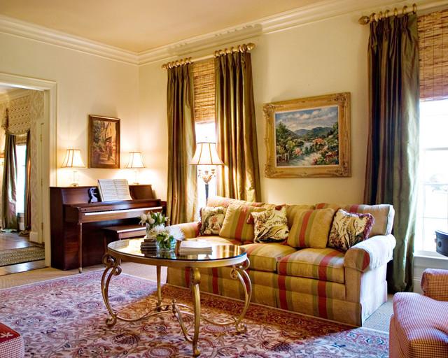Formal living room traditional living room charlotte by leslie