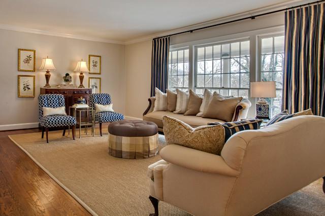 Formal Living Room Reupholstered Family Heirloom Camel