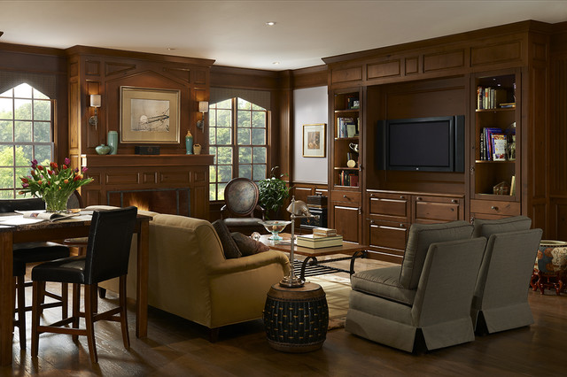 Woodland Meadows by Brookhaven traditional-living-room