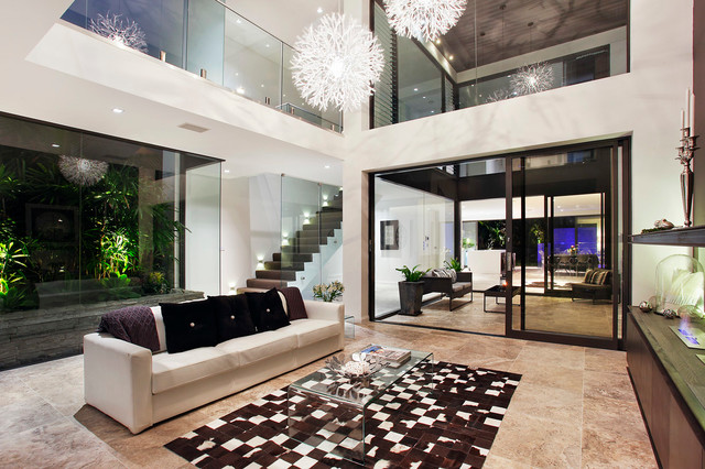 formal living contemporary living room sydney by