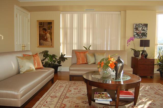 Former Jamaican consul general contemporary-living-room