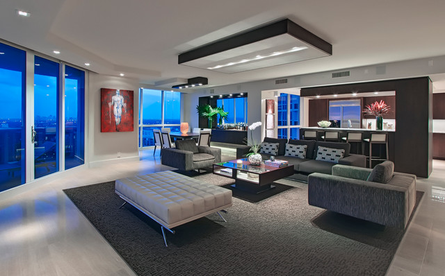 Fort Lauderdale Luxury Residence Contemporary Living