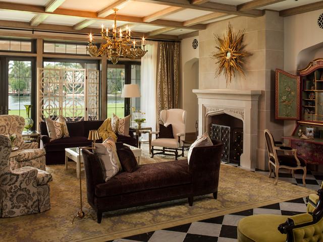Fort Lauderdale Residence - Mediterranean - Living Room
