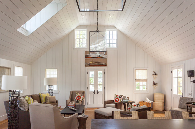 Fort Point Cottage Harbour Island The Bahamas Contemporary Living Room