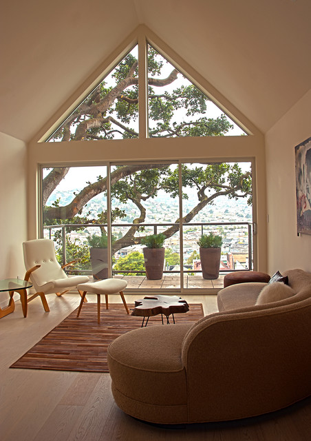 Fougeron Architecture contemporary-living-room