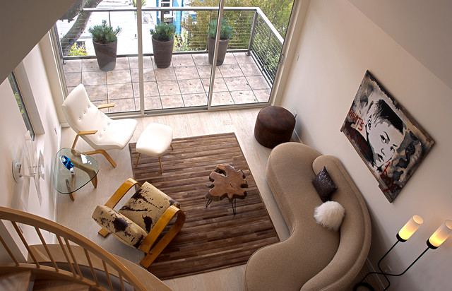 Fougeron Architecture Contemporary Living Room San