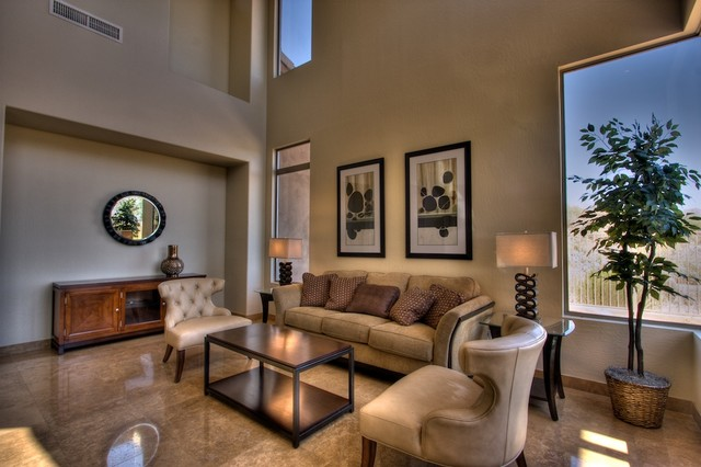 Fountain Hills Interior Design And Remodel Contemporary Living Room