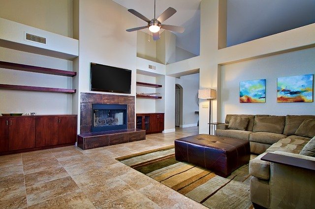 fountain hills remodel and interior design contemporary living - Living Room Remodel