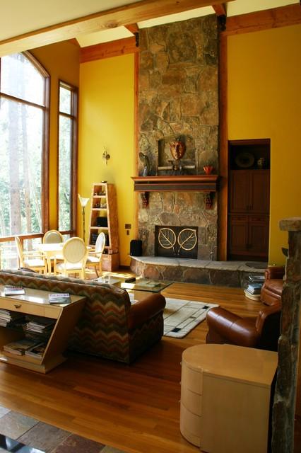 Four o'Clock traditional-living-room