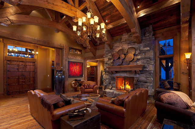 Four Peaks Residence eclectic-living-room
