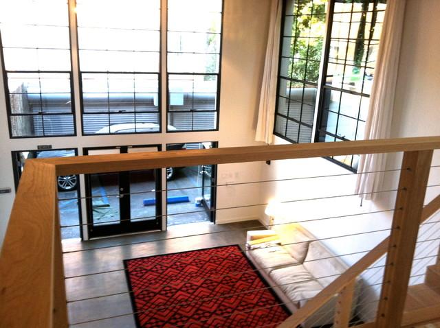 Frank gehry project minimalistisch wohnbereich los for Minimalistisch wohnen vorher nachher