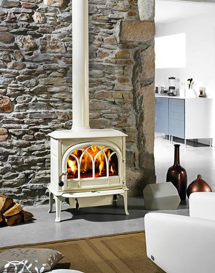Free Standing Stoves Rustic Living Room Denver By Inglenook Energy Center