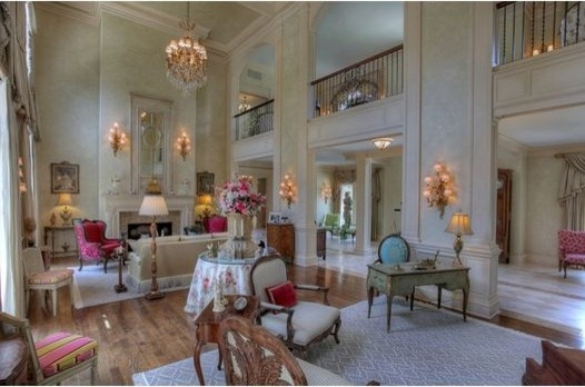 French Chateau mediterranean-living-room