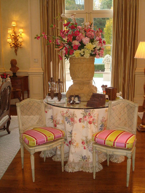 French Chateau traditional-living-room