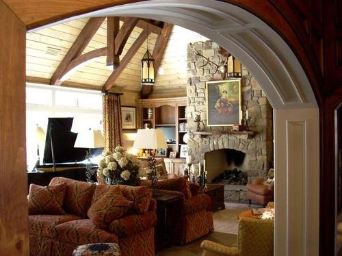 4 Forty Four - Blowing Rock, NC contemporary-living-room
