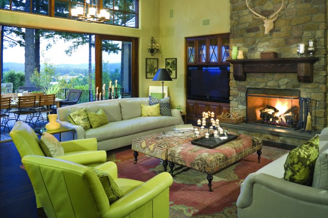 French Country Elegance traditional-living-room