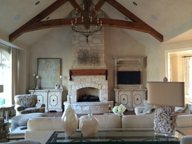 remarkable french country living room furniture | French Country Living Room - Rustic - Living Room - Dallas ...