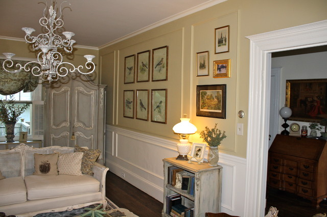 French Country Living Room Makeover Eclectic Living Room Atlanta By Vintage Fine Finishes