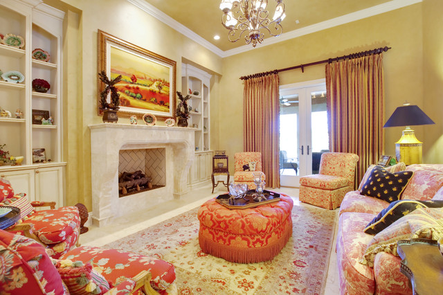 French country living room - French decorating ideas living room ...