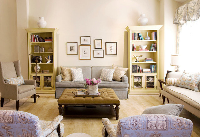 French Country With A Modern Twist Traditional Living Room Los