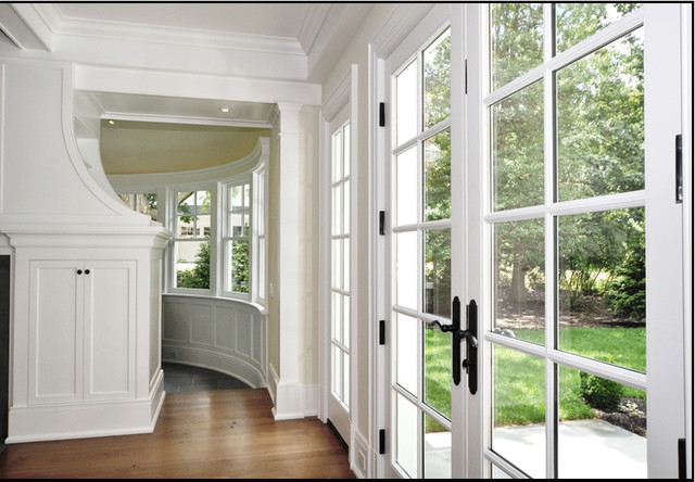 French Doors Off Living Room