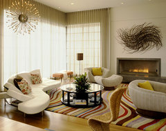 French Haven contemporary-living-room