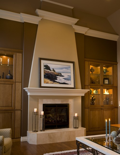French Inspired Design Traditional Living Room