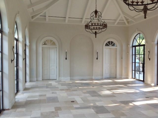 French Limestone Flooring   Antique Dalle De Bourgogne Limestone Floor 2nd  Cut Mediterranean Living