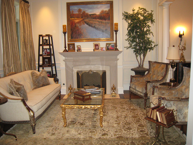 French Living Room - Traditional - Living Room - Phoenix - by VM ...